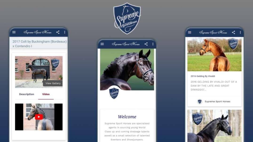 Supreme Sport Horses App