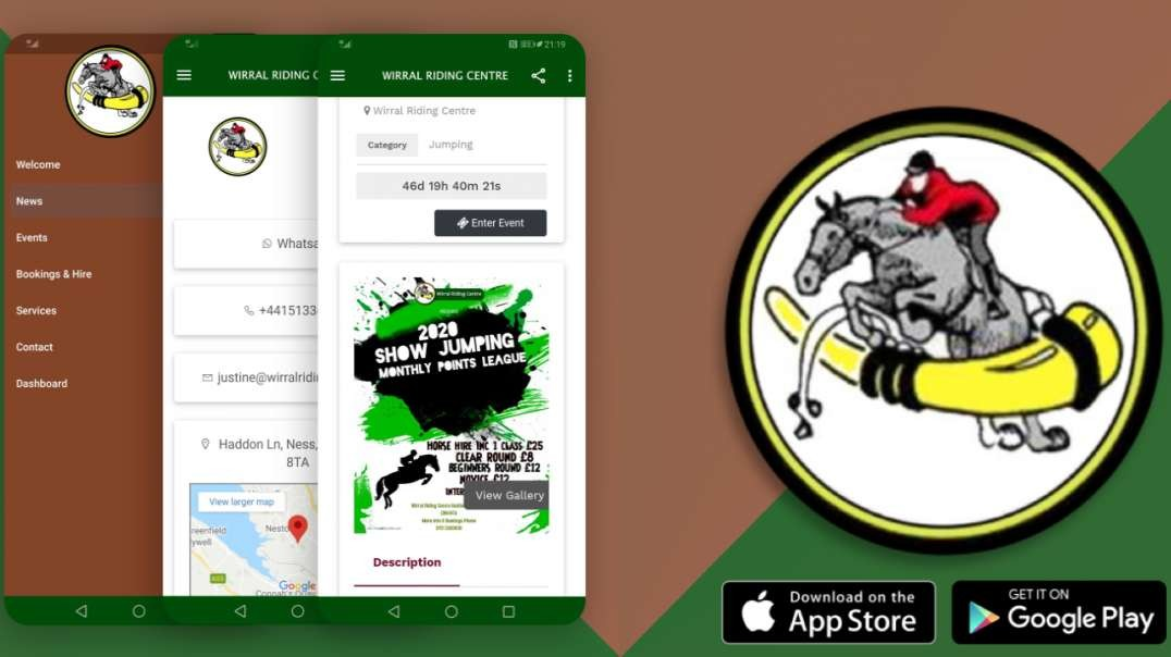 Wirral Riding Centre App