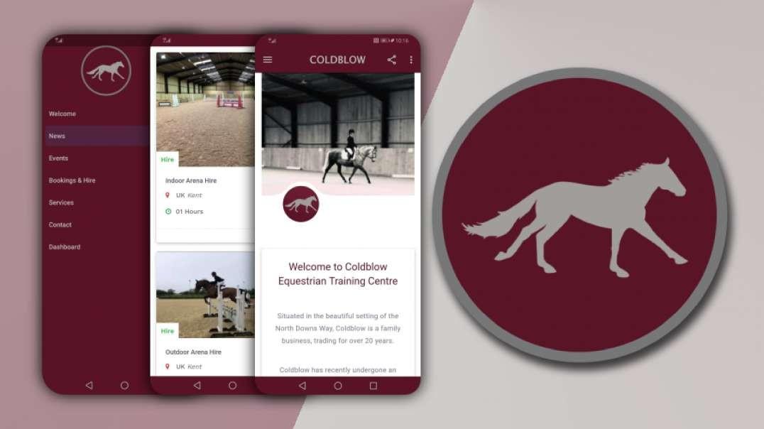 Coldblow Equestrian Mobile App