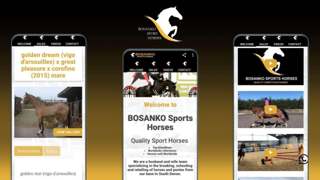 Bosanko Sport Horses Mobile App