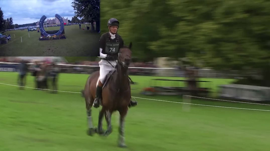 William Fox Pitt Cross Country Round with RiderCam